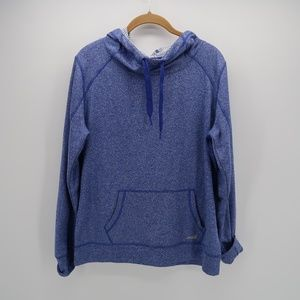 Avia Blue Athletic Pullover Hoodie Sweater Size L